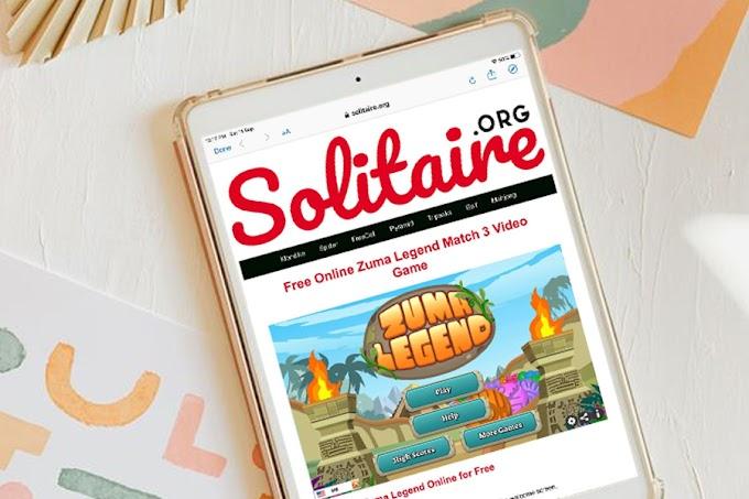 Main Game Zuma Legend di Solitaire.org teringat zaman dulu-dulu