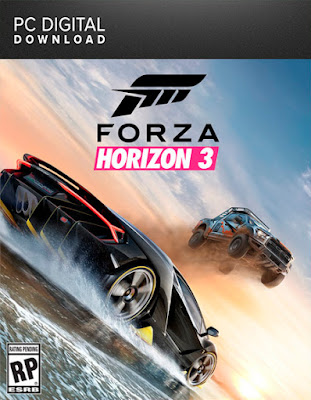 Forza Horizon 3 Dublado PT-BR + CRACK PC Torrent (2016)