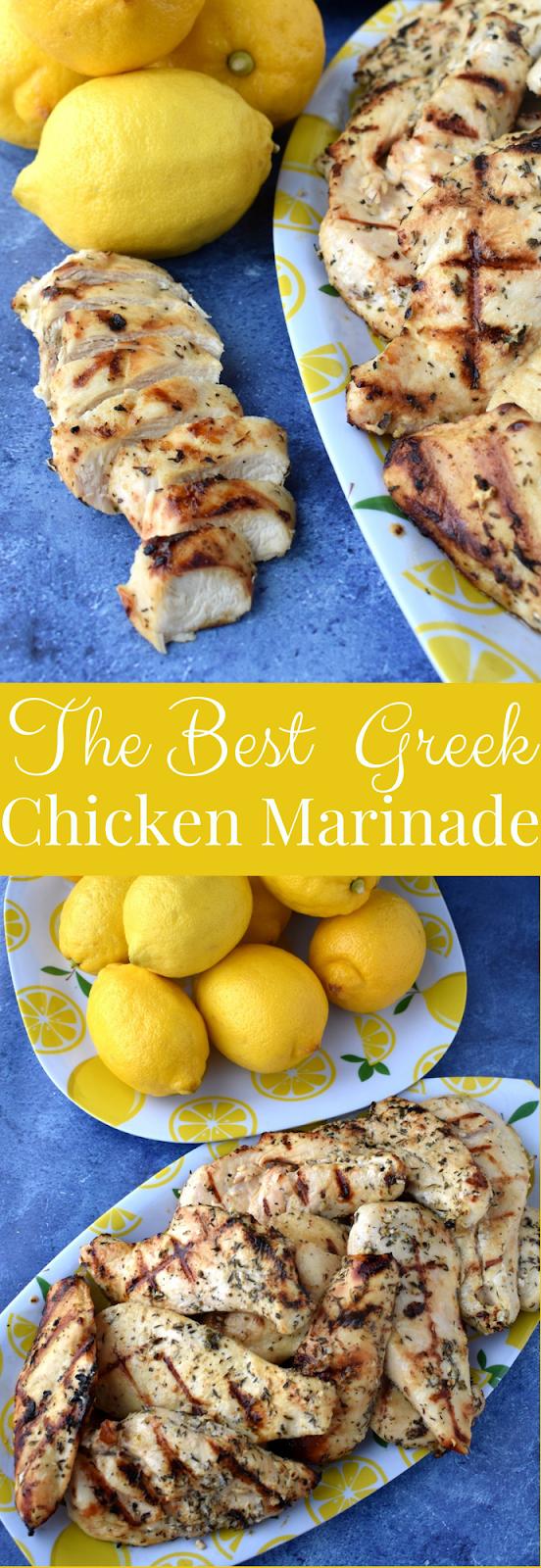 The Best Greek Lemon Chicken Marinade