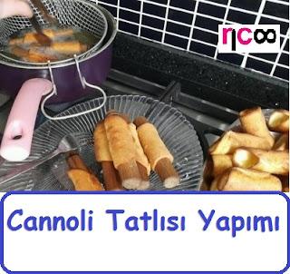 Cannoli Tatlısı Yapımı