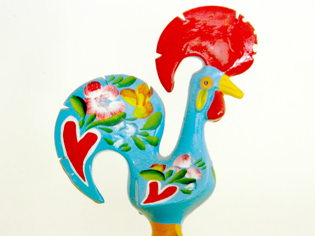 Chicken Rooster Portugal Mascot