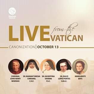 Canonization Alert: Pope Francis to canonize 5 new saints