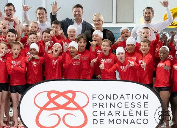 The workshops, organized by the Princess Charlene of Monaco Foundation