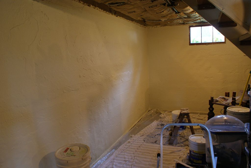 Paint Basement Walls