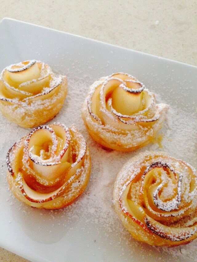 Cooking with Manuela: Beautiful Pictures of YOUR Apple Roses