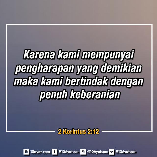 2 Korintus 2:12