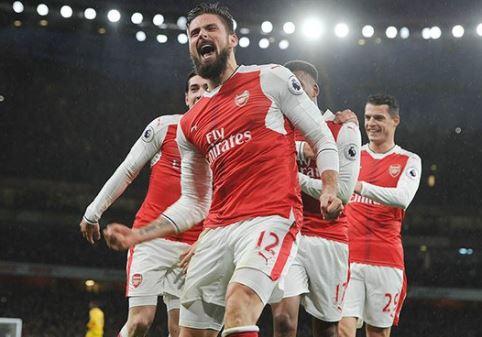 Olivier Giroud set to miss London derby