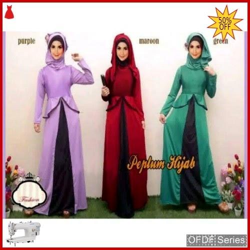 OFDF266 Dress Maxi Dress Gamis Vilia Ce BMGShop