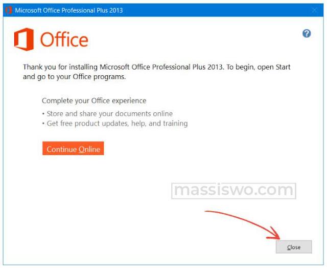 Cara instal microsoft office 2013 professional plus