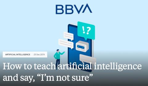 Une IA qui sait dire «je ne suis pas sûre»