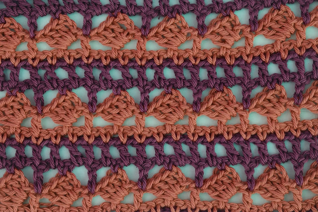 3 - Crochet Imagen Puntada para poncho de verano a crochet y ganchillo por Majovel Crochet