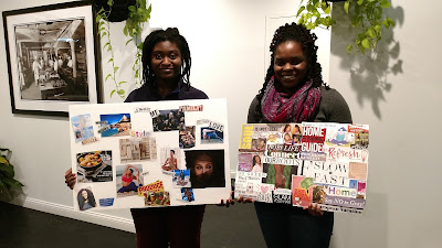 Indy's ClassyCurlies vision board event 2017