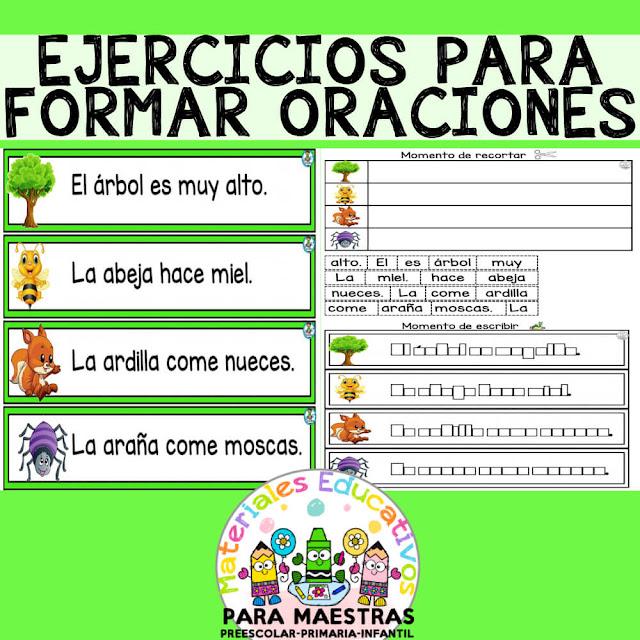 fichas-ejercicios-formar-escribir-oraciones