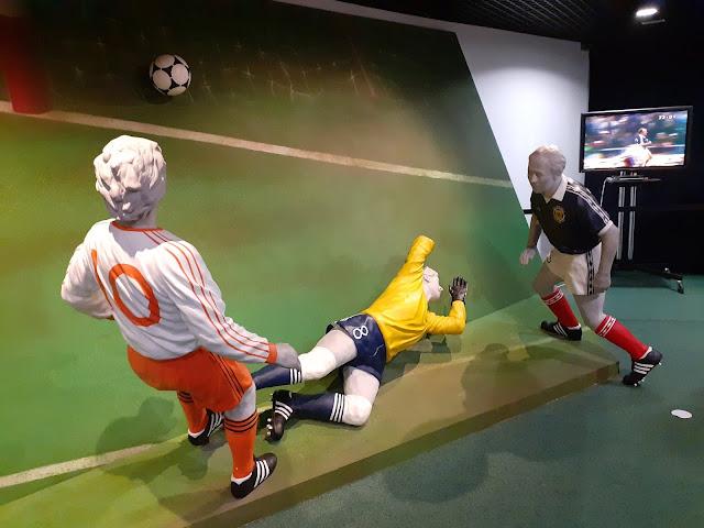 Archie Gemmill 1978 World Cup Display