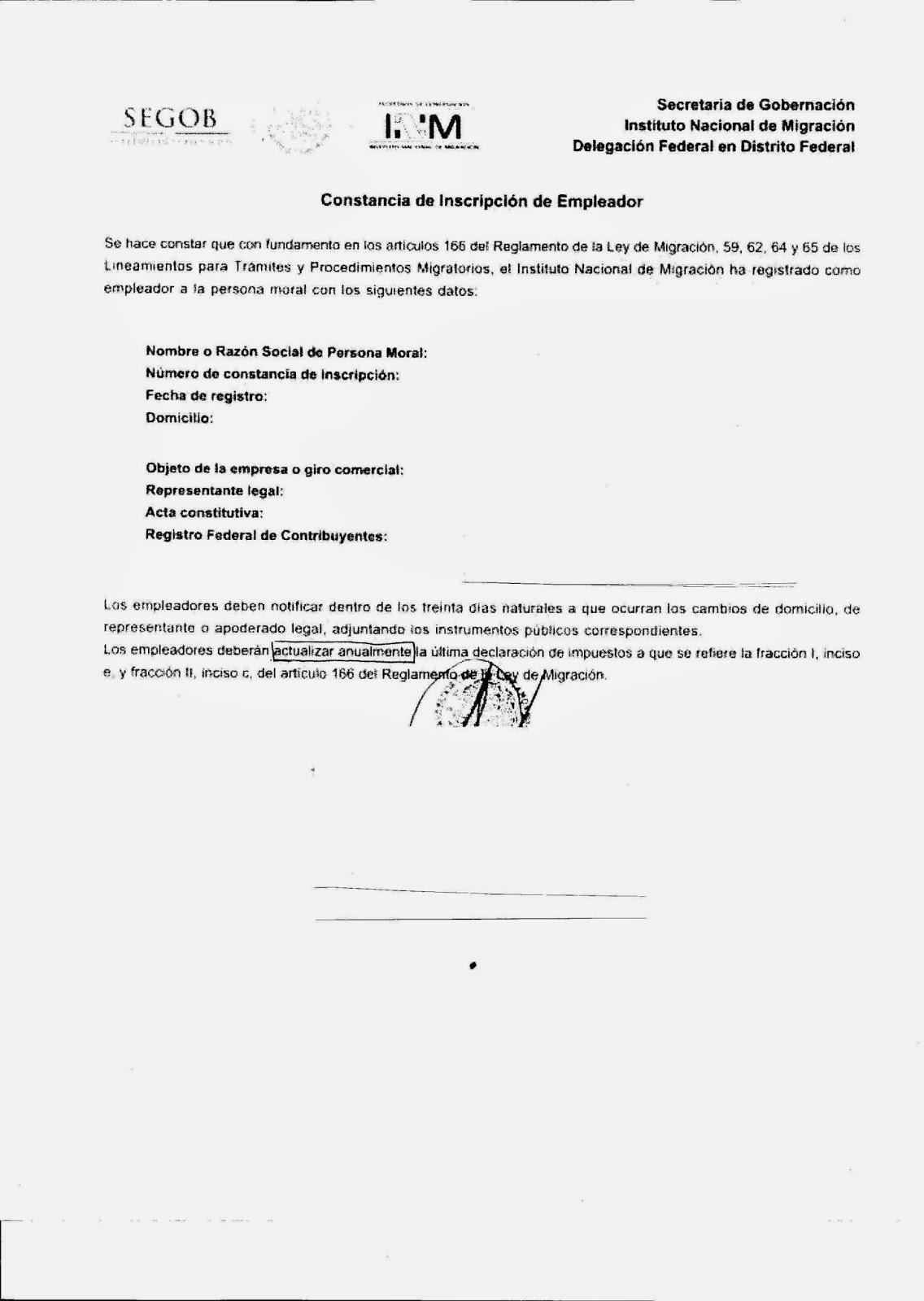 EMIGRANTES EN MÉXICO: DE TURISTA A RESIDENTE TEMPORAL VÍNCULO ...