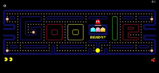 ألعاب رائجة, شعارات جوجل المبتكرة, محرك بحث جوجل, 10 ألعاب رائجة, pac-man, popular google doodle games