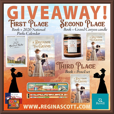 A Distance Too Grand giveaway graphic