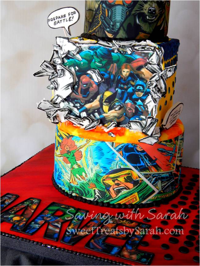 Sweet Treats By Sarah Comic Book Cake
