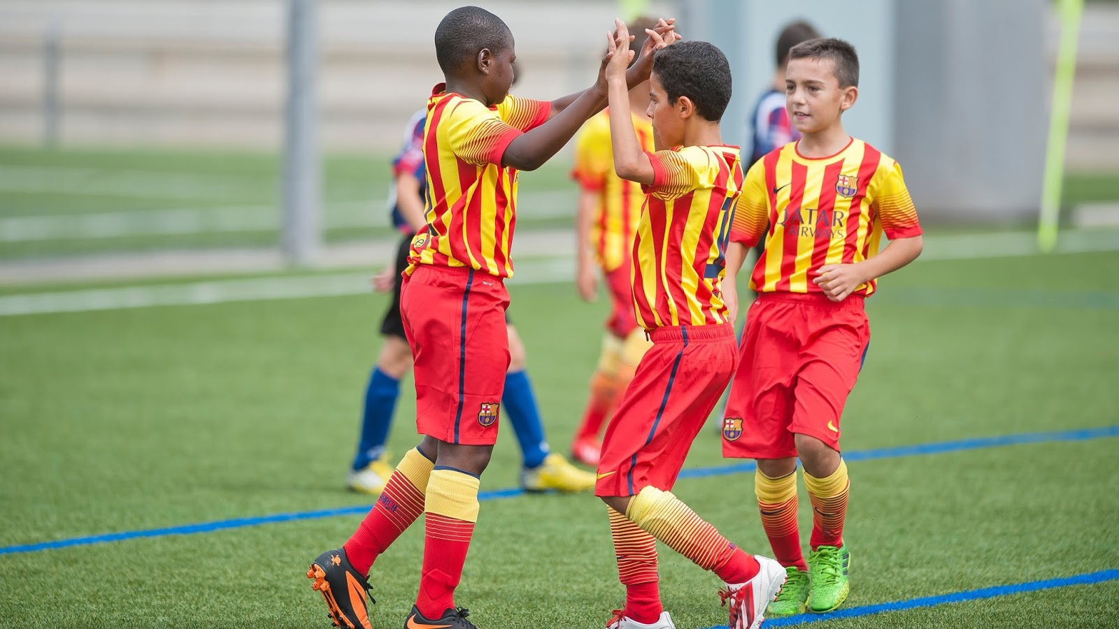 Image result for FC Barcelona Academy commence training in Lagos