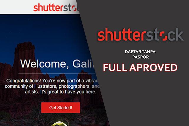 cara mendaftar menjadi contributor shutterstock tanpa paspor