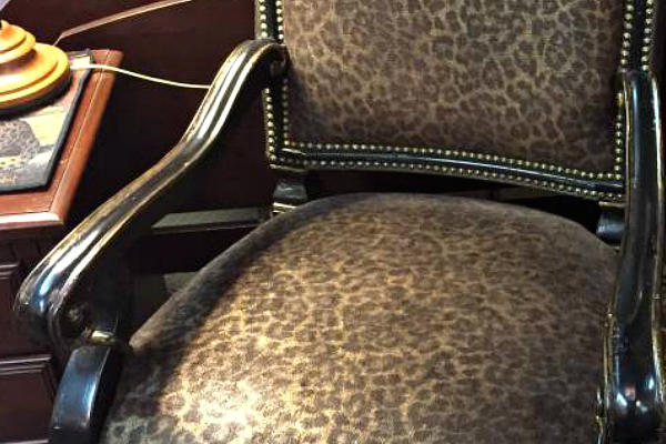 Animal print chair - Craigslist OKC Garage Sales