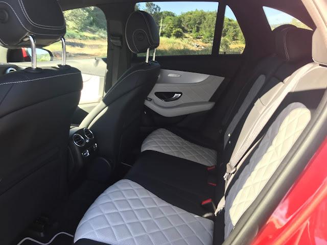 Rear seat in 2020 Mercedes-Benz GLC 300 4MATIC