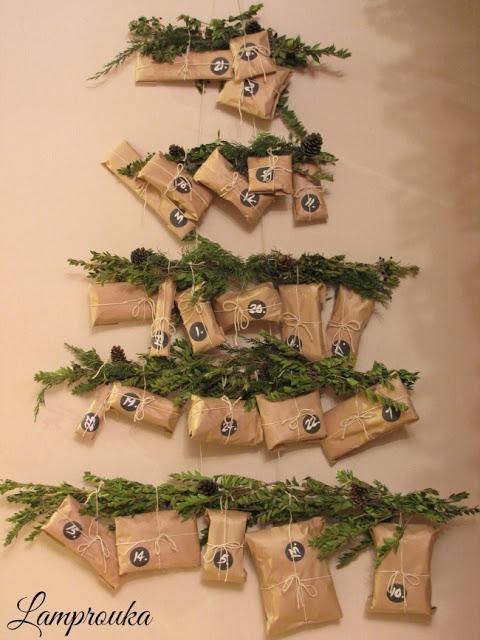 Φτιάξε χριστουγεννιάτικο ημερολόγιο αντίστροφης μέτρησης.