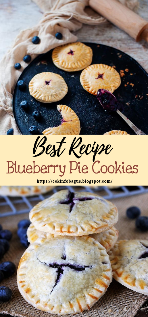 Blueberry Pie Cookies #desserts #cakerecipe #chocolate #fingerfood #easy
