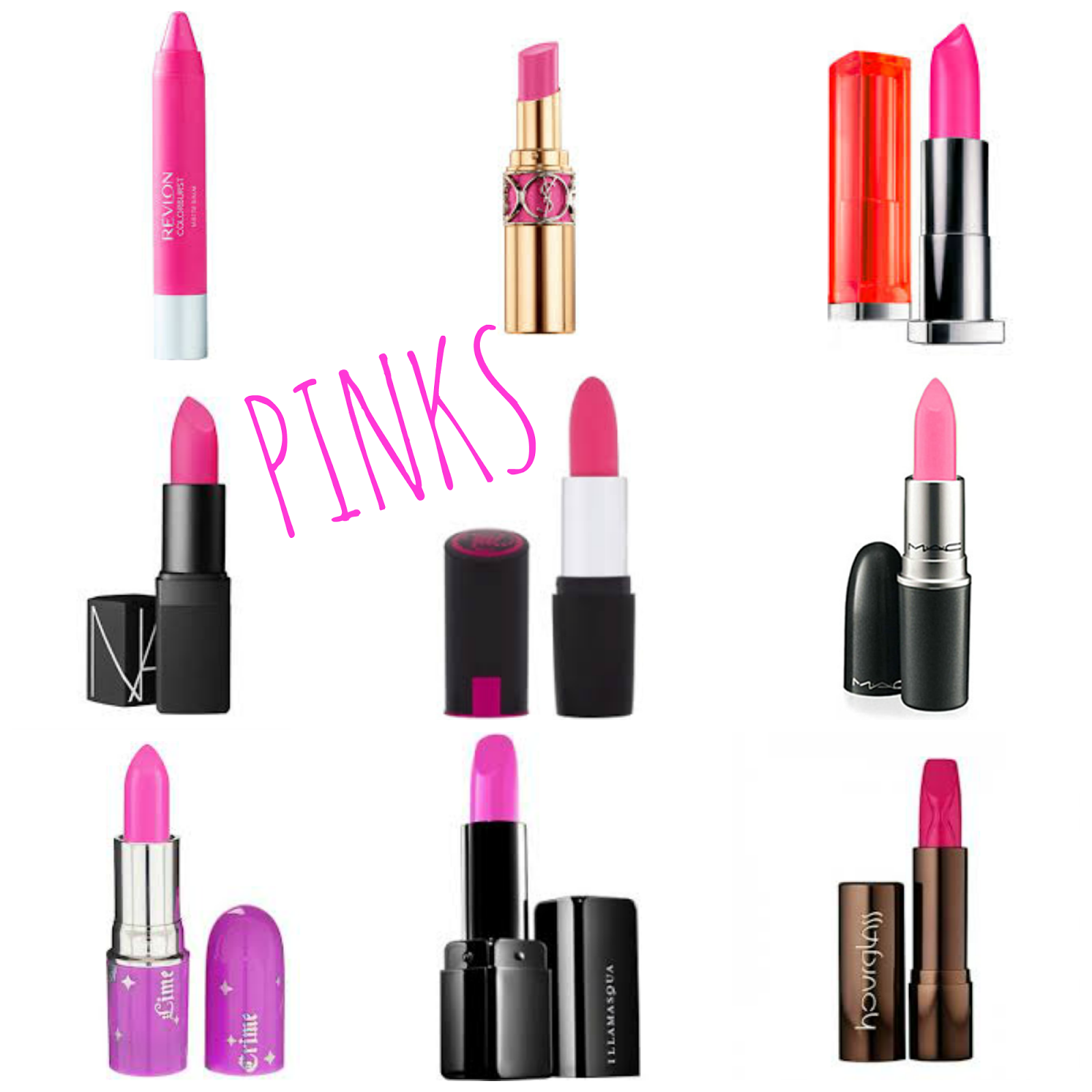 Spring Inspired Lipsticks