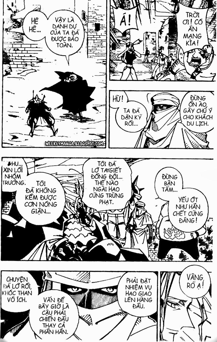 Shaman King [Vua pháp thuật] chap 96 trang 9
