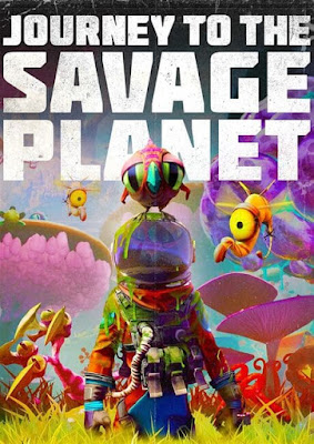 Capa do Journey to the Savage Planet