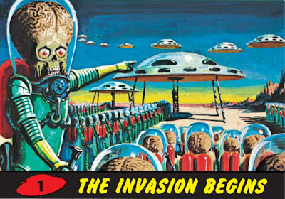 Mars Attacks card (1962) from Topps. wikicommons