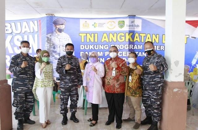 Percepat Terbentuknya Herd Immunity, Bank bjb Fasilitasi Vaksinasi Covid-19 di Pancoran dan Blanakan