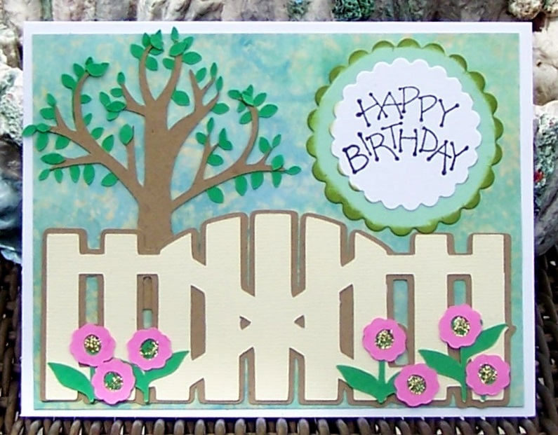 Donna s dreamworks birthday card using the cricut bloom