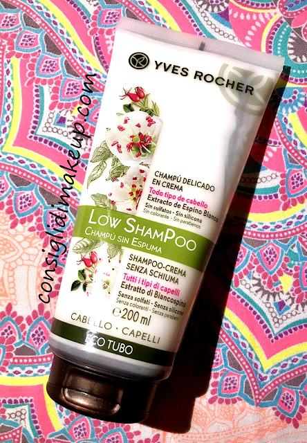 Low Shampoo? Comodo, semplice ed efficace con Yves Rocher