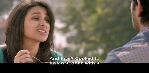 And love? Cooked it, tasted it, done with it.