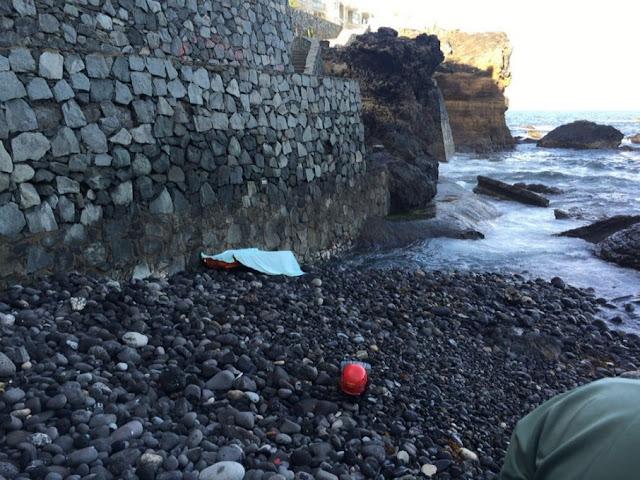 Rescatan cuerpo sin vida en Nidillos, La isleta Gran Canaria