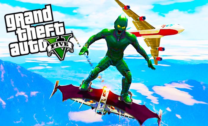 GTA 5 - Green Goblin-Glider Mod Download Now!