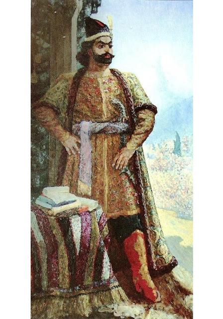 Fətəli xan Qubalı portreti. Səttar Bəhlulzadə