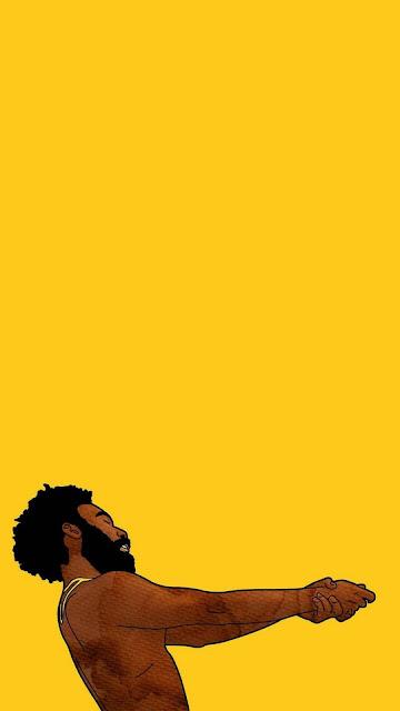 yellow wallpaper rapper