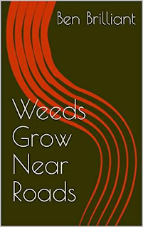 Weeds Grow Near Roads - a dark and adult fantasy book by Ben Brilliant