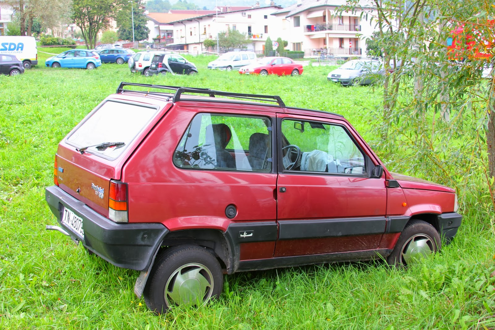 Beat on the Italian Street: Fiat Panda 4x4 Sisley - Beaterblog