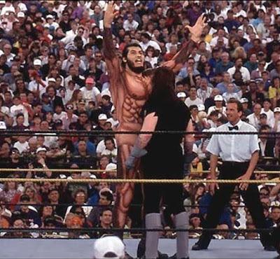 Comparación tamaño Gigante González vs The Undertaker