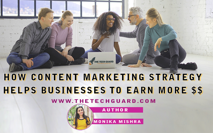 How Content Marketing Strategy Helps Businesses to Earn better   Examples & Pdf, SEO Techniques  