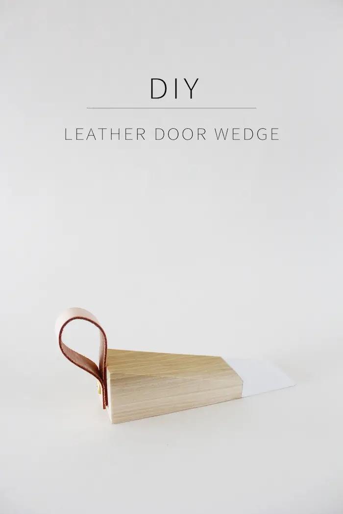 Tope para puerta DIY o cuña de inspiración escandinava