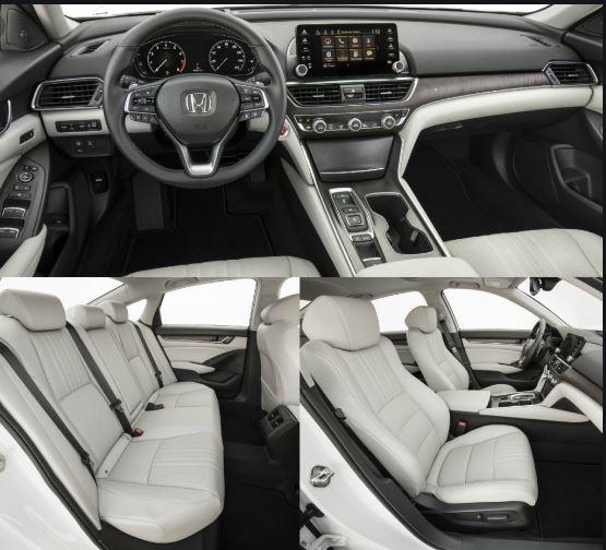 10th Generation Honda Accord 2019 Interior View Full