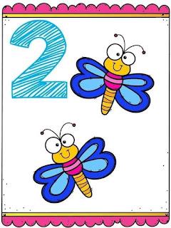 tarjetas de números del 1 al 10 para preescolar