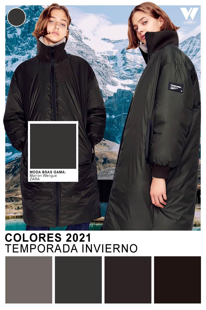 Negro color de moda otoño invierno 2021
