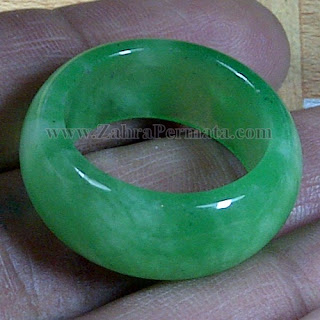 Cincin Batu Giok Jadeite Jade - ZP 1071