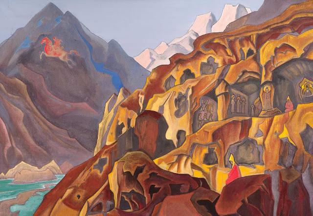 Николай Рерих - Святые пещеры
